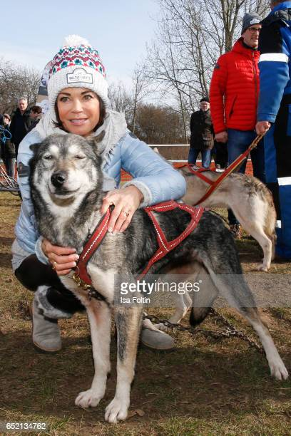 German actress Gerit Kling attends the 'Baltic Lights' charity event on March 11, 2017 in Heringsdorf, Germany. Every year German actor Till...