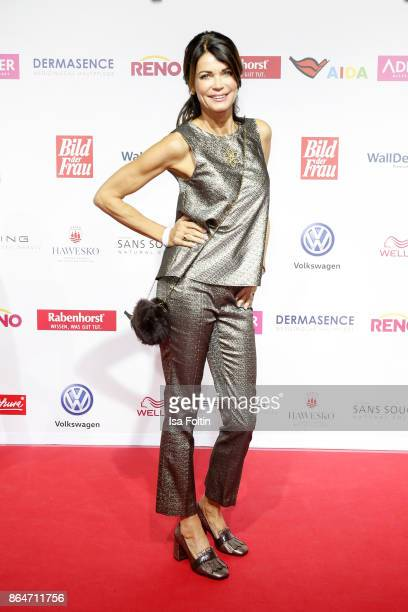 German actress Gerit Kling attends the 'Goldene Bild der Frau' award at Hamburg Cruise Center on October 21, 2017 in Hamburg, Germany.