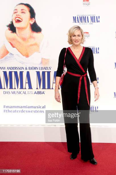 German actress Gesine Cukrowski at the premiere of Mamma Mia Das Musical at Stage Theater des Westens on September 22 2019 in Berlin Germany
