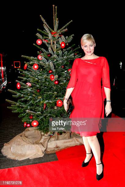 German actress Gesine Cukrowski during the Daimlers BE A MOVER event at Ein Herz Fuer Kinder Gala at Studio Berlin Adlershof on December 7 2019 in...