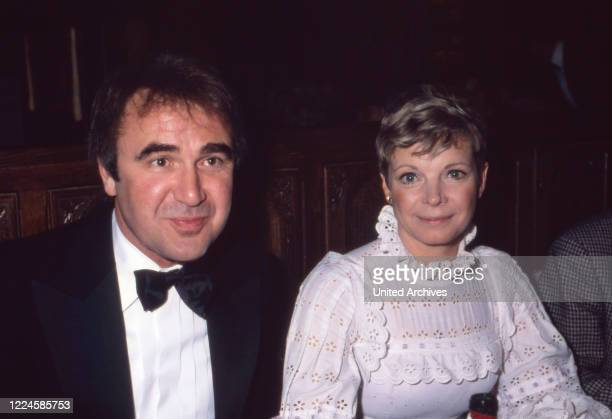 German actress Grit Boettcher and Doctor Koch Germany 1980s