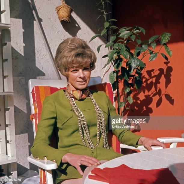 German actress Grit Boettcher Germany 1960s