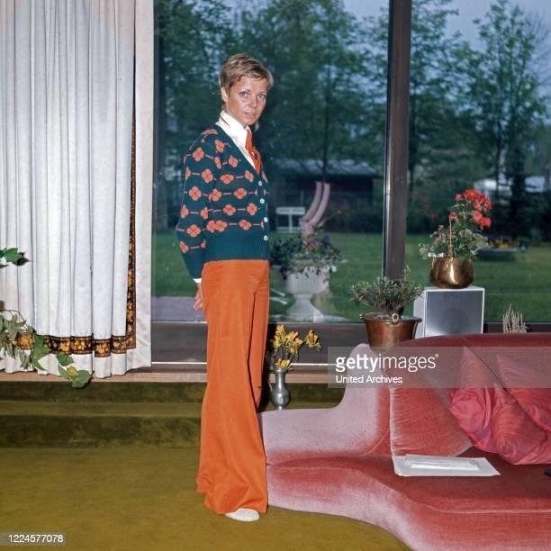 German actress Grit Boettcher Germany 1970s