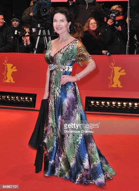 German actress Gudrun Landgrebe attends the 'The International' premiere and Opening Ceremony during the 59th Berlin International Film Festival at...