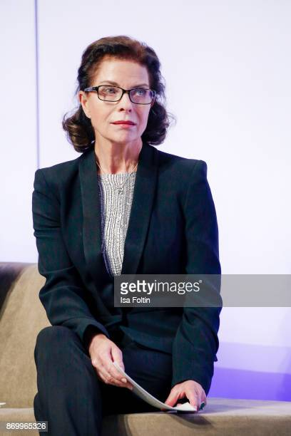 German actress Gudrun Landgrebe during the 19th Media Award by Kindernothilfe on November 3 2017 in Berlin Germany