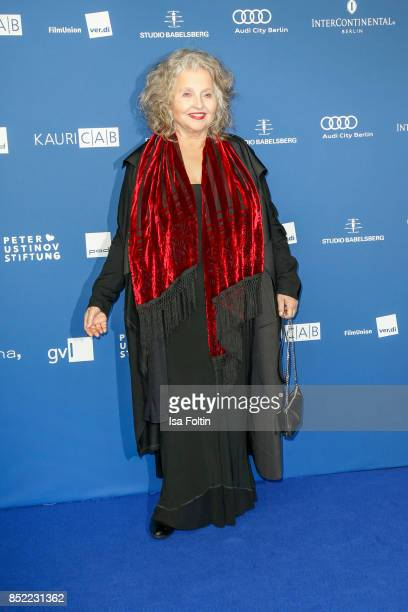 German actress Hanna Schygulla during the 6th German Actor Award Ceremony at Zoo Palast on September 22 2017 in Berlin Germany
