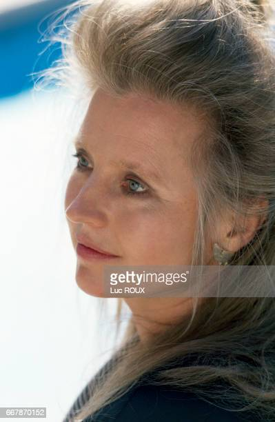 German actress Hanna Schygulla during the Cannes Film Festival