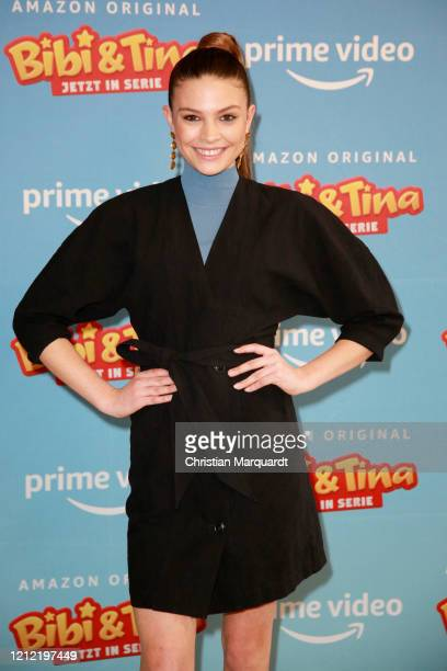 German Actress Harriet HerbigMatten attends the photo call for the series Bibi Tina at Hotel Oderberger on March 13 2020 in Berlin Germany