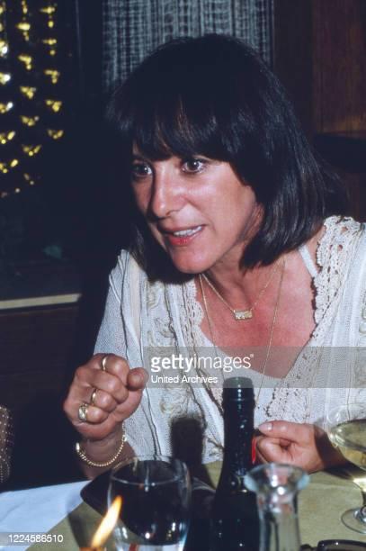 German actress Heidelinde Weis Germany 1980s