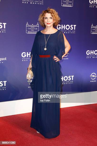 German actress Heike Kloss during the premiere of 'Ghost Das Musical' at Stage Theater on December 7 2017 in Berlin Germany