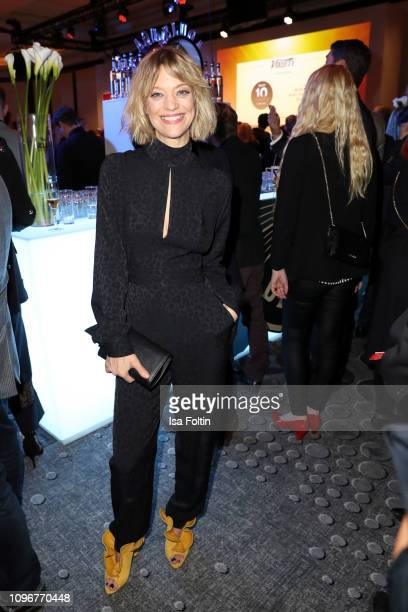 German actress Heike Makatsch attends the Medienboard Berlin-Brandenburg Reception on the occasion of the 69th Berlinale International Film Festival...