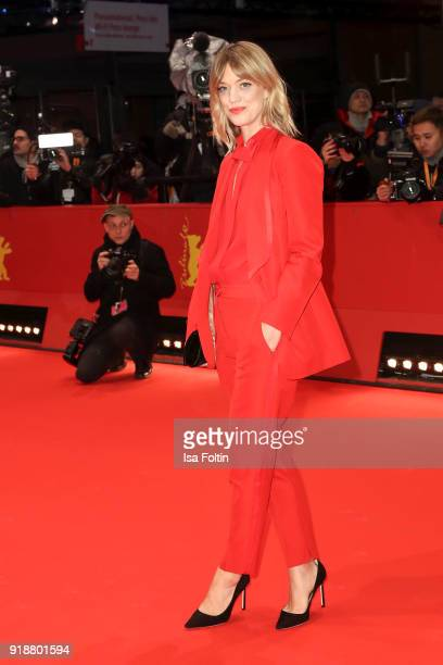 German actress Heike Makatsch attends the Opening Ceremony & 'Isle of Dogs' premiere during the 68th Berlinale International Film Festival Berlin at...