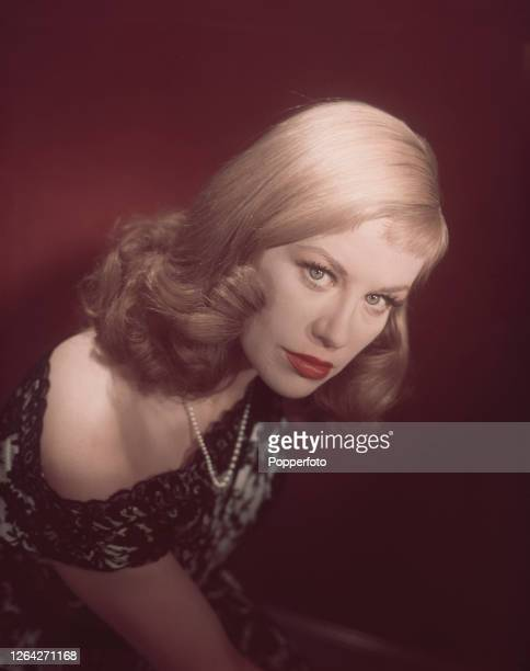German actress Hildegard Knef posed in London in October 1952 Hildegard Knef is in London to dub her 1951 film 'The Sinner' in to English
