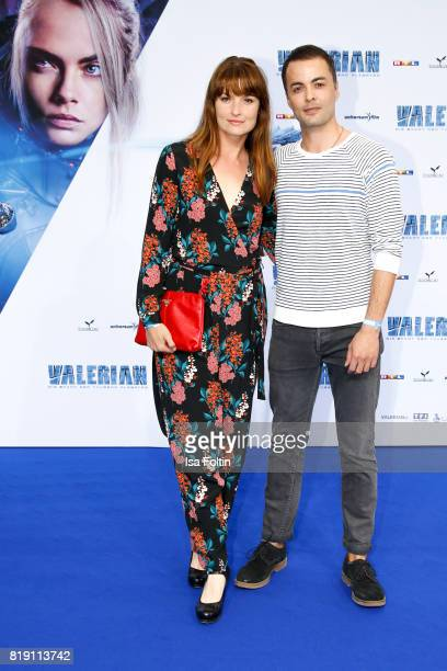 German actress Ina Paule Klink and her boyfriend German actor Nikolai Kinski during the 'Valerian - Die Stadt der Tausend Planeten' premiere at...