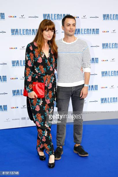 German actress Ina Paule Klink and her boyfriend German actor Nikolai Kinski during the 'Valerian Die Stadt der Tausend Planeten' premiere at...
