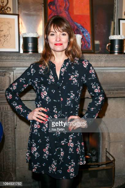 German actress Ina Paule Klink attends the Blaue Blume Awards at Restaurant Grosz on February 6 2019 in Berlin Germany