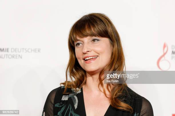 German actress Ina Paule Klink during the German musical authors award on March 15 2018 in Berlin Germany