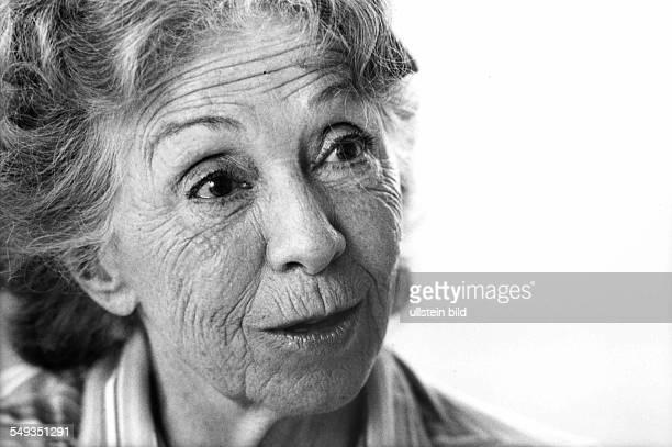 German actress Inge Meysel