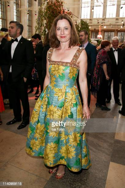 German actress Inka Friedrich attends the Lola German Film Award reception at Palais am Funkturm on May 3 2019 in Berlin Germany
