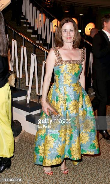 German actress Inka Friedrich attends the Lola German Film Award Party at Palais am Funkturm on May 3 2019 in Berlin Germany
