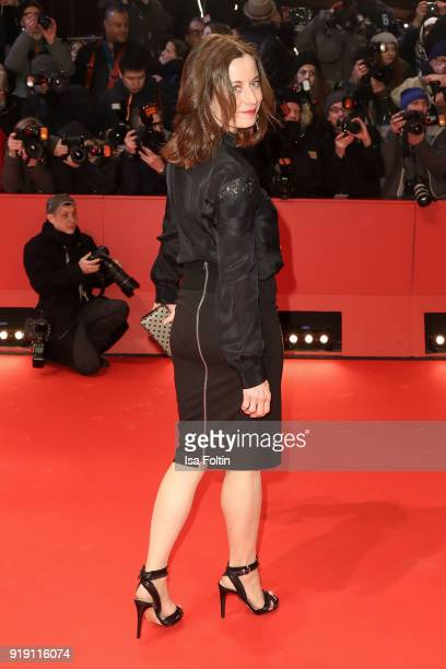 German actress Inka Friedrich attends the Opening Ceremony & 'Isle of Dogs' premiere during the 68th Berlinale International Film Festival Berlin at...