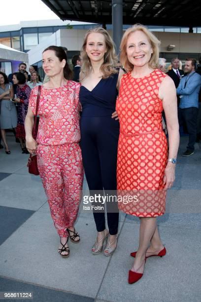 German actress Inka Friedrich, German actress Susanne Bormann and German actress Maren Kroymann during the 13th Long Night of the Sueddeutsche...