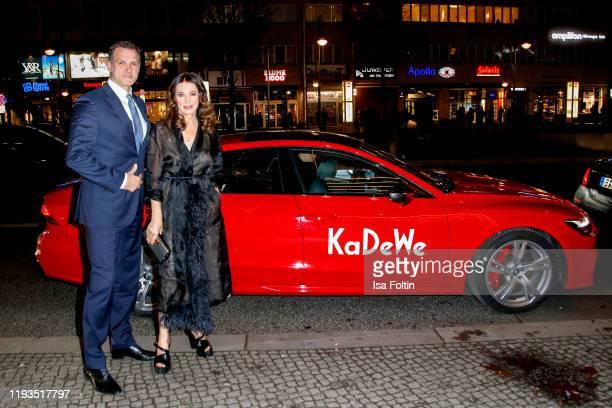 German actress Iris Berben and her boyfriend Heiko Kiesow at the KaDeWe Grand Opening event at KaDeWe on December 10, 2019 in Berlin, Germany.