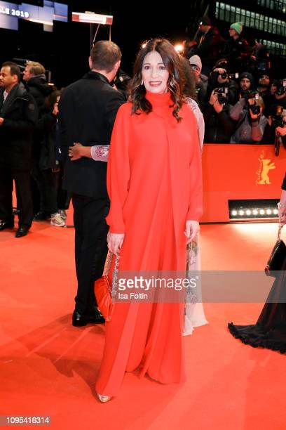 """German actress Iris Berben attends the opening ceremony and """"The Kindness Of Strangers"""" premiere during the 69th Berlinale International Film..."""