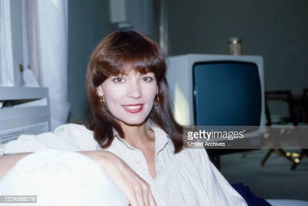 German actress Iris Berben, Germany, 1970s.