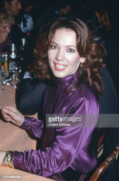 German actress Iris Berben, Germany, 1980s.