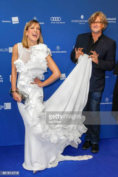 German actress Isabell Horn and Martin Krug during the 6th German Actor Award Ceremony at Zoo Palast on September 22, 2017 in Berlin, Germany.