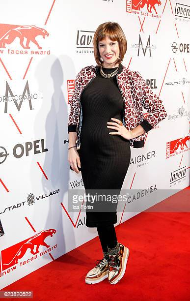 German actress Isabell Horn attends New Faces Award Style on November 16 2016 in Berlin Germany