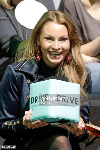 German actress Jana Julia Kilka during the discussion panel of Clich'e Bashing 'soziale Netzwerke Real vs Digital' In Berlin at DRIVE Volkswagen...