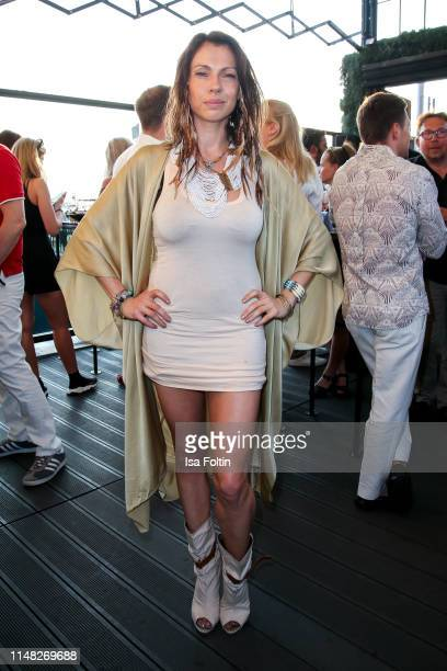 German actress Jana Pallaske attends the GRACE Restaurant Bar rooftop opening at Hotel Zoo on June 5 2019 in Berlin Germany