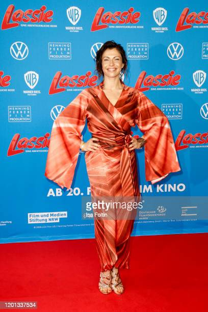 German actress Jana Pallaske attends the premiere of Lassie Eine Abenteurerliche Reise at Zoo Palast on February 16 2020 in Berlin Germany