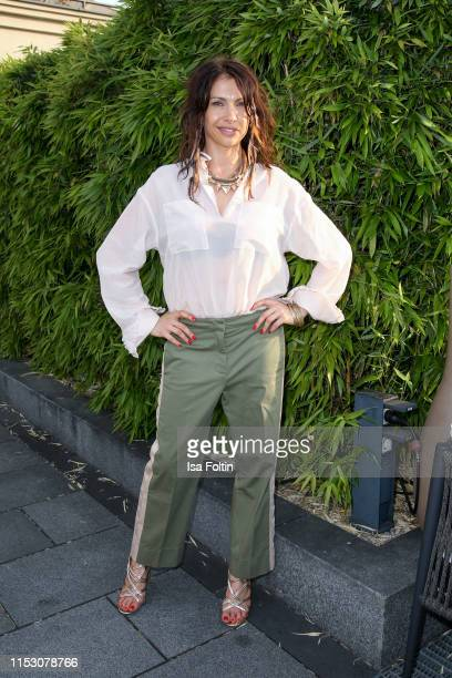 German actress Jana Pallaske during the TwoTell Ladiesdinner 2019 at Hotel De Rome on June 30 2019 in Berlin Germany