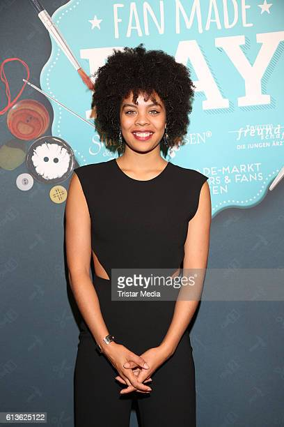 German actress Jane Chirwa attends the Fan Made Day by Das Erste on October 9 2016 in Hamburg Germany