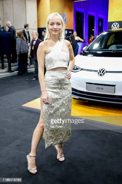 German actress Janin Ullmann arrives for the 21st GQ Men of the Year Award at Komische Oper on November 7 2019 in Berlin Germany