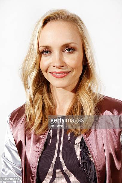 German actress Janin Ullmann attends the 'Deutschland tanzt' photo call at Soho House on October 27 2016 in Berlin Germany