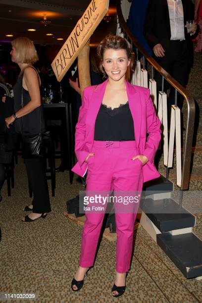 German actress Janina Fautz attends the Lola German Film Award Party at Palais am Funkturm on May 3 2019 in Berlin Germany