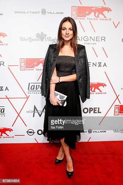 German actress Janina Uhse attends the New Faces Award Style on November 16 2016 in Berlin Germany