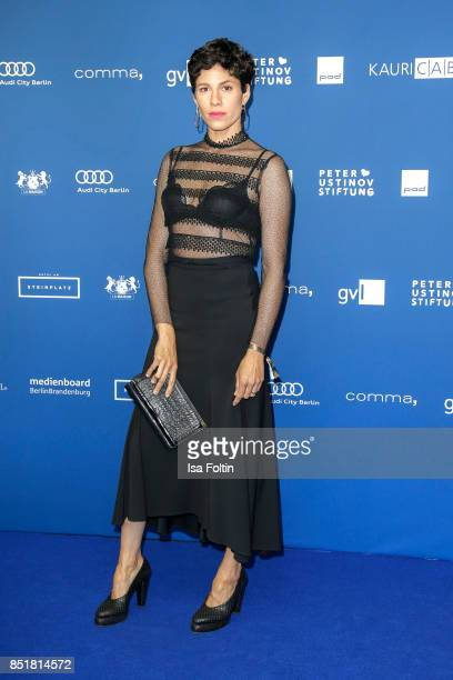 German actress Jasmin Gerat during the 6th German Actor Award Ceremony at Zoo Palast on September 22, 2017 in Berlin, Germany.