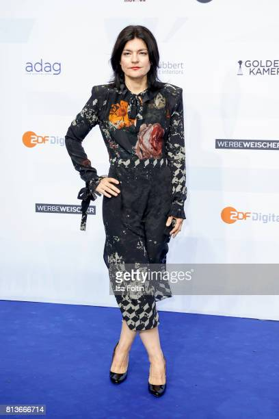 German actress Jasmin Tabatabai attends the summer party 2017 of the German Producers Alliance on July 12 2017 in Berlin Germany