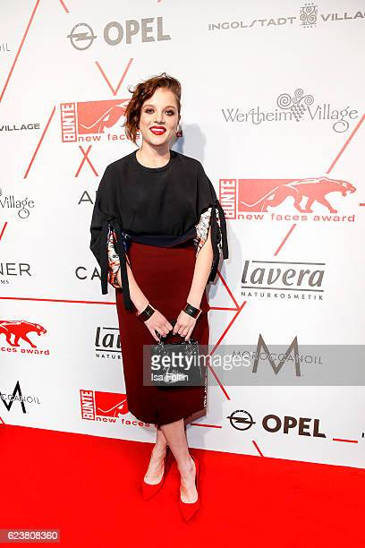 German actress Jella Haase attends New Faces Award Style on November 16 2016 in Berlin Germany