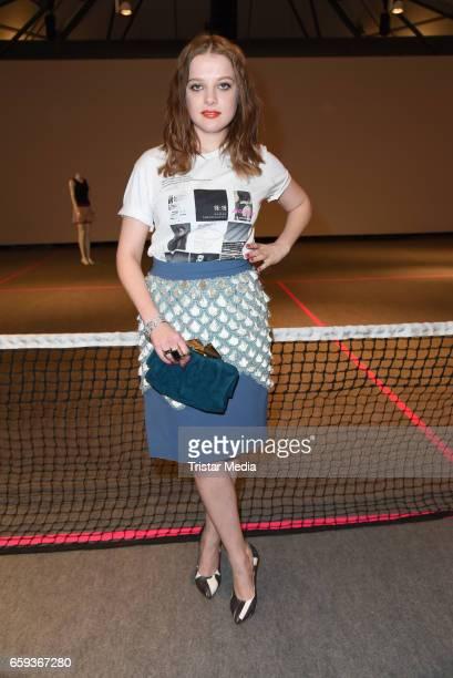 German actress Jella Haase attends the BIDI BADU by Kilian Kerner Presentation at Ellington Hotel on March 28 2017 in Berlin Germany