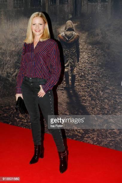 German actress Jennifer Ulrich attends the 'Heilstaetten' premiere at Delphi on February 7 2018 in Berlin Germany
