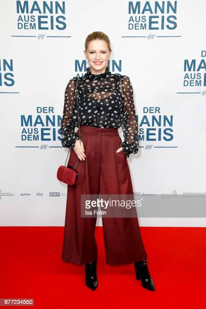 German actress Jennifer Ulrich attends the premiere of 'Der Mann aus dem Eis' at Zoo Palast on November 21 2017 in Berlin Germany