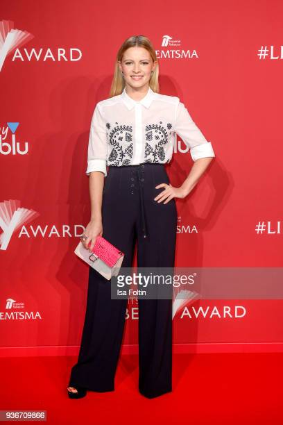 German actress Jennifer Ulrich attends the Reemtsma Liberty Award 2018 on March 22 2018 in Berlin Germany