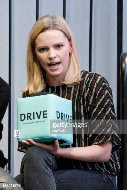 German actress Jennifer Ulrich during the discussion panel of Clich'e Bashing 'soziale Netzwerke Real vs Digital' In Berlin at DRIVE Volkswagen Group...