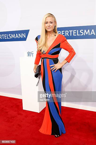German actress Jenny Elvers attends the Bertelsmann Summer Party at Bertelsmann Repraesentanz on September 8 2016 in Berlin Germany
